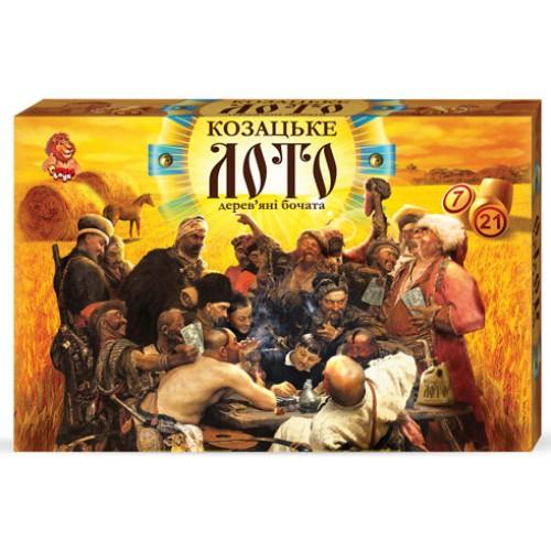 "Лото ""Козацьке"" (дерев.бочонки) (5) ""ДАНКО ТОЙС"""