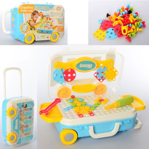 Мозаика RX1900-13 на шурупах, в чемодане на колесах,28-17-10см