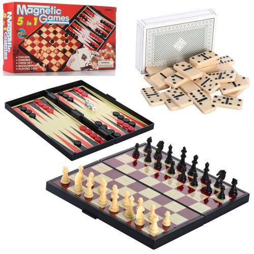 Шахматы 9841 А 5 в 1 (48)