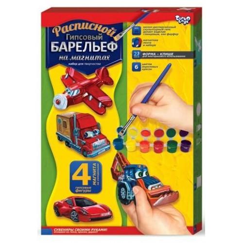 Набор Барельеф гипсовый малый DANKO TOYS