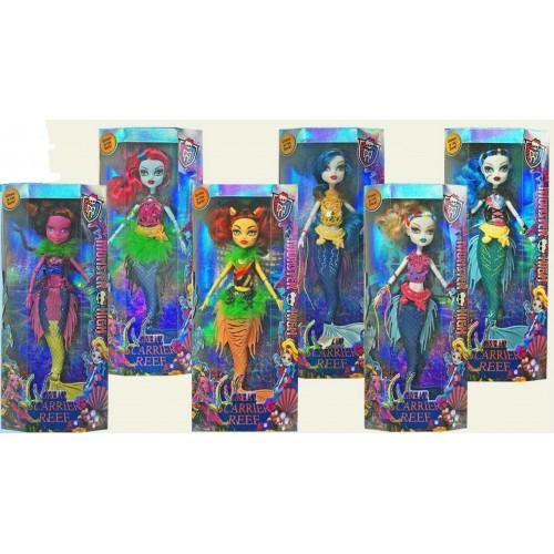 """Кукла """"Monster High """"Great Scarrier Reef """" 2106 (96шт/2) 6 видов, руки шарнир, в кор."""