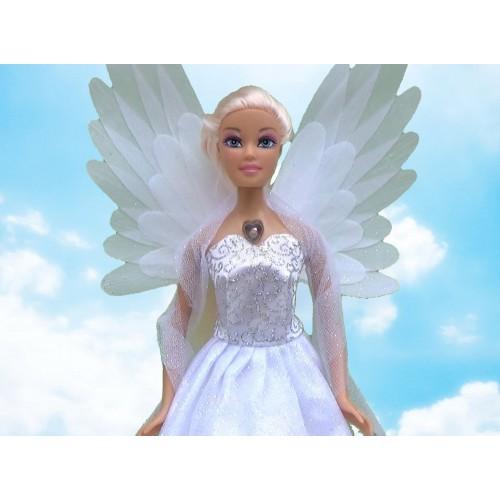 Кукла Defa Ангел со светящимися крыльями