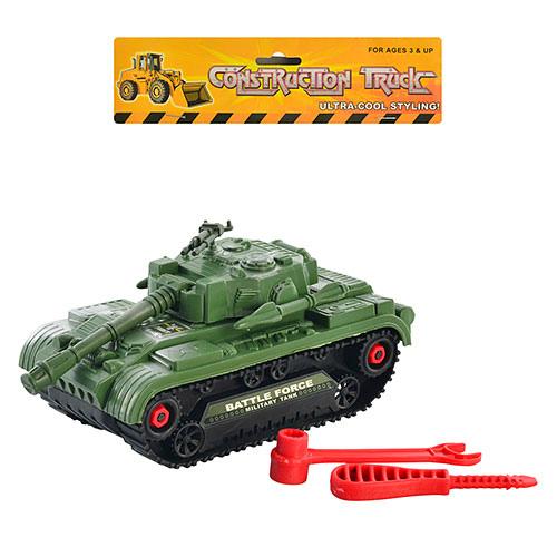 Танк 5424 B конструктор,  инструменты в кульке 18-10 см