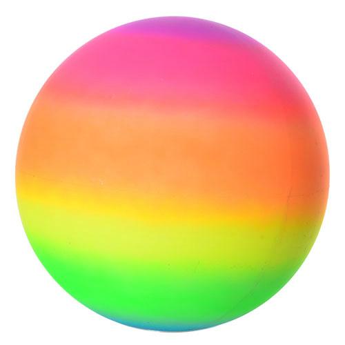 Мяч детский MS 0919 ПВХ 9 дюймов, радуга, ПВХ, 80г,в кульке