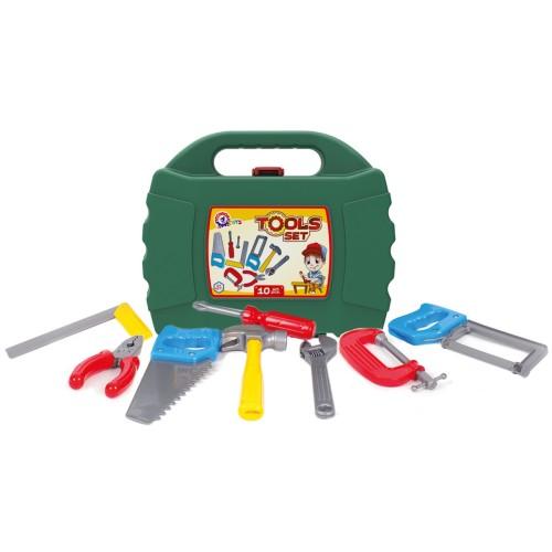 Набор инструментов 4371 - 10 предметов в коробке 27 х 22.5 х 8.5 см