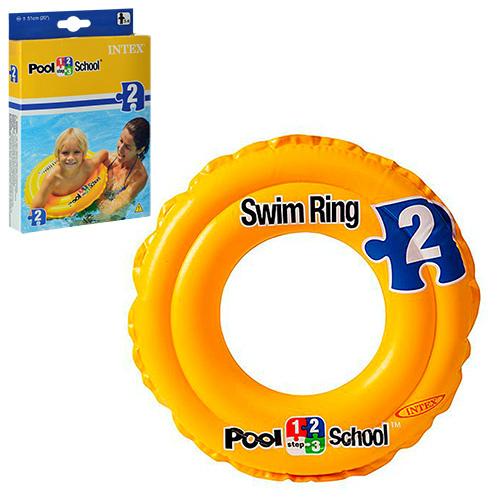 Круг 58231 Swit Ring, Pool School 2, 51см, 3-6 лет, винил, в кор-ке, 19-13-2,5см