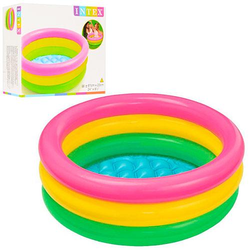 Бассейн надувной  57107 Для детей от 1 до 3 лет • Размер 61х22см