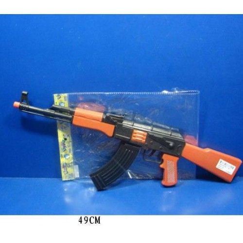 Автомат-трещетка AK47-112 (144шт/2) в пакете 49 см