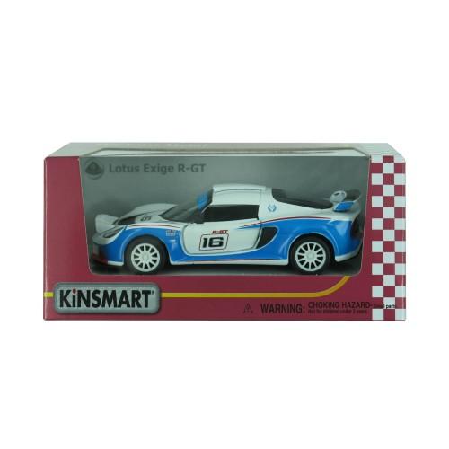 """Машинка KT 5362 W """"2012 Lotus Exige R-GT"""" металл, инер-я, 1:32, в кор-ке"""