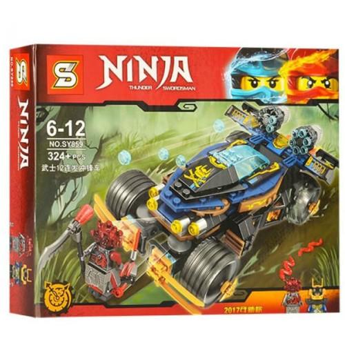 Конструктор sy859 аналог Lego ninjago 70625 самурай VXL, 324 деталей