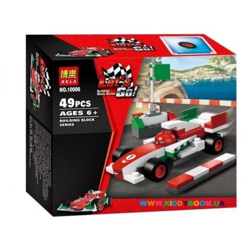Конструктор Тачки 2 Франческо Бернулли 49 дет. Bela 10006