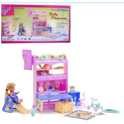 """Мебель """"Gloria"""" 21019 (48шт/2) для детской, в кор.16, 5*29*6см"""