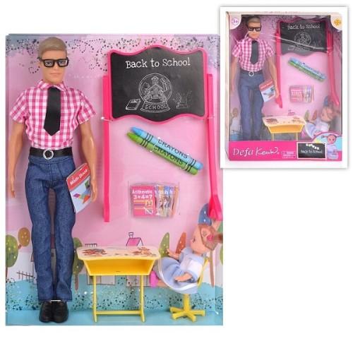 Кукла DEFA 8368 Кен Учитель