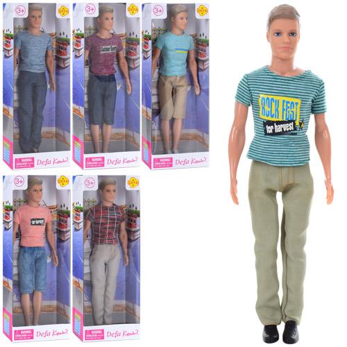 Кукла DEFA 8372 Кен, 31 см, 6 видов, в кор-ке 12,5-32,5-5,5см