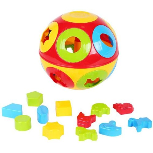 Игрушка «Умный малыш Колобок ТехноК» 2926 размеры 19 × 19 × 19 см