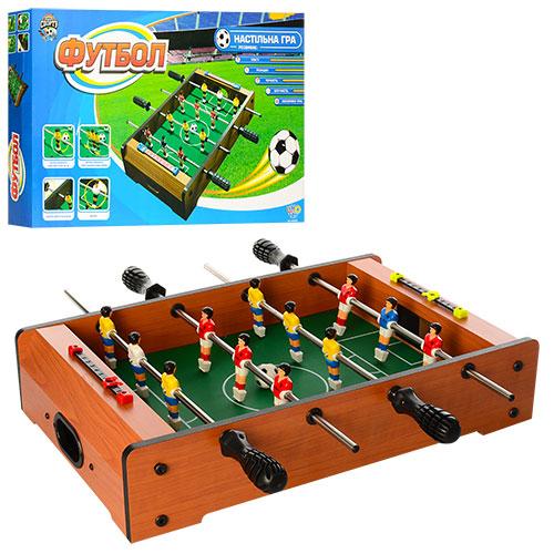 Футбол деревянный HG235A (12шт/2) в коробке 52*30*8см
